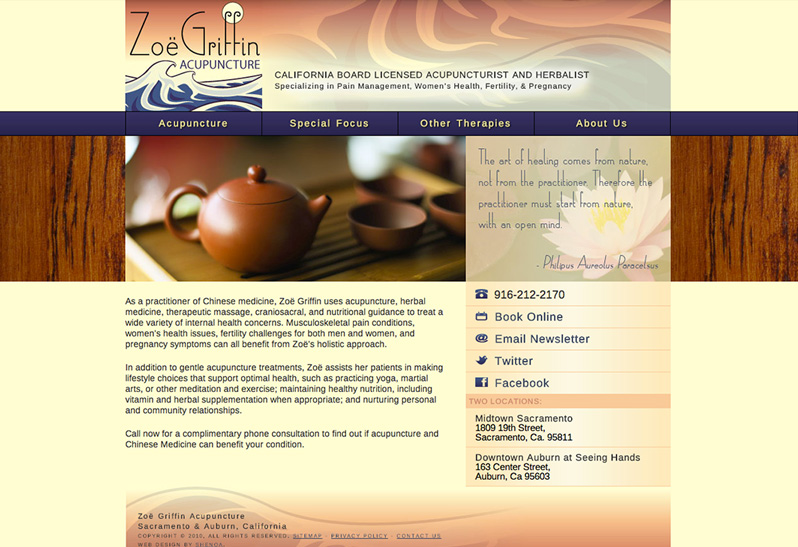 Zoe Griffin Acupuncture